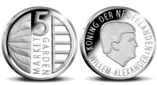Market Garden Commemerative 5 Euro Coin